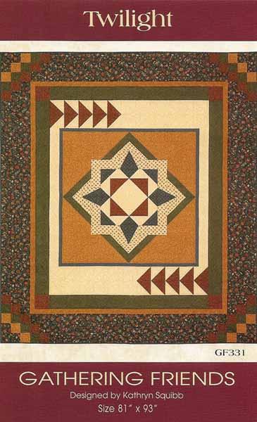 Twlight quilt pattern